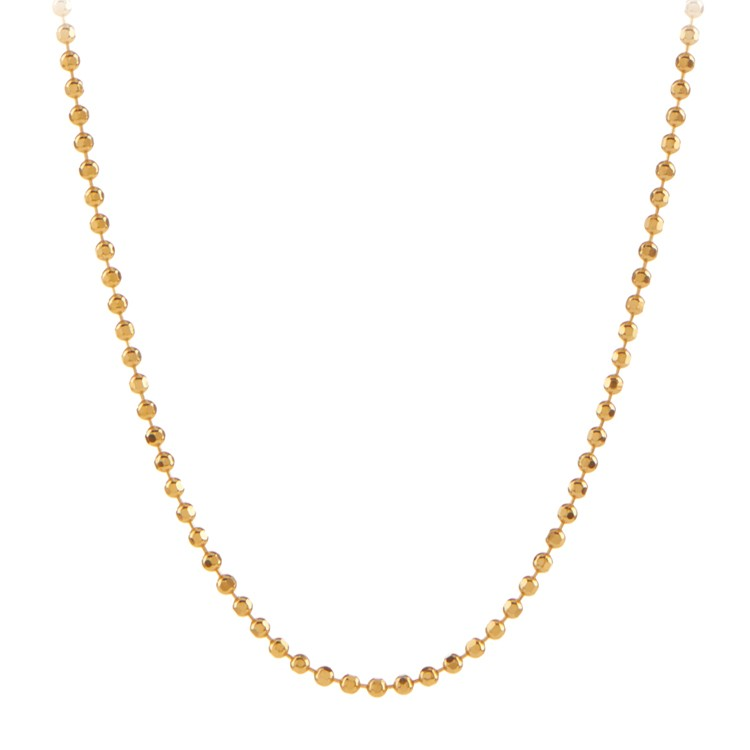 Pernille Corydon - Facet plain necklace