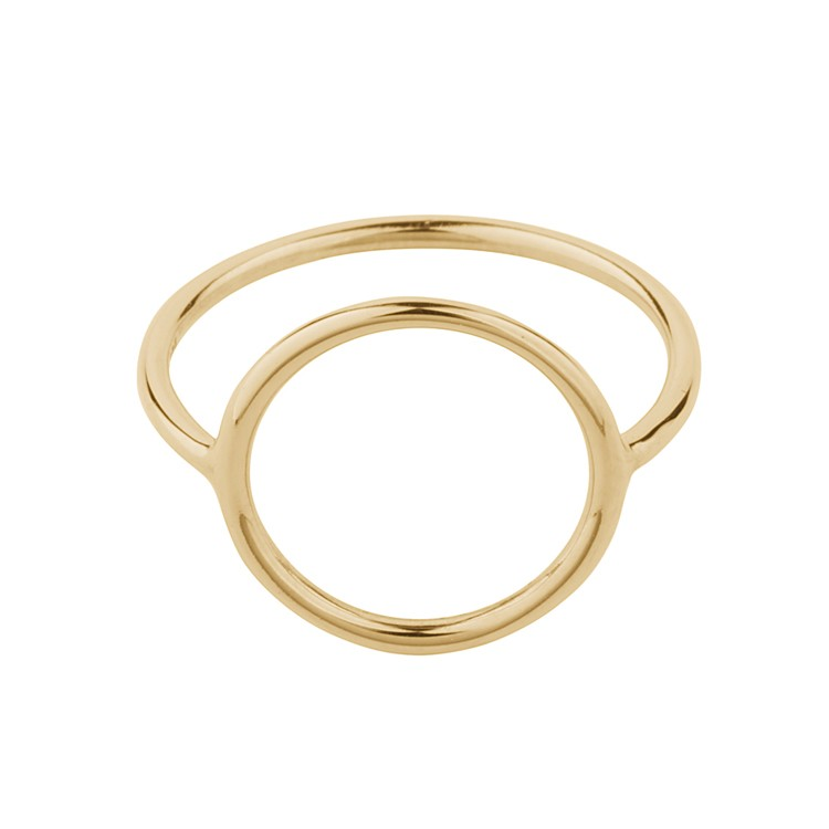Pernille Corydon - Halo ring adjustable